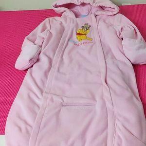 2/$40💕Disney Baby Winnie the Pooh Bunting Onesie
